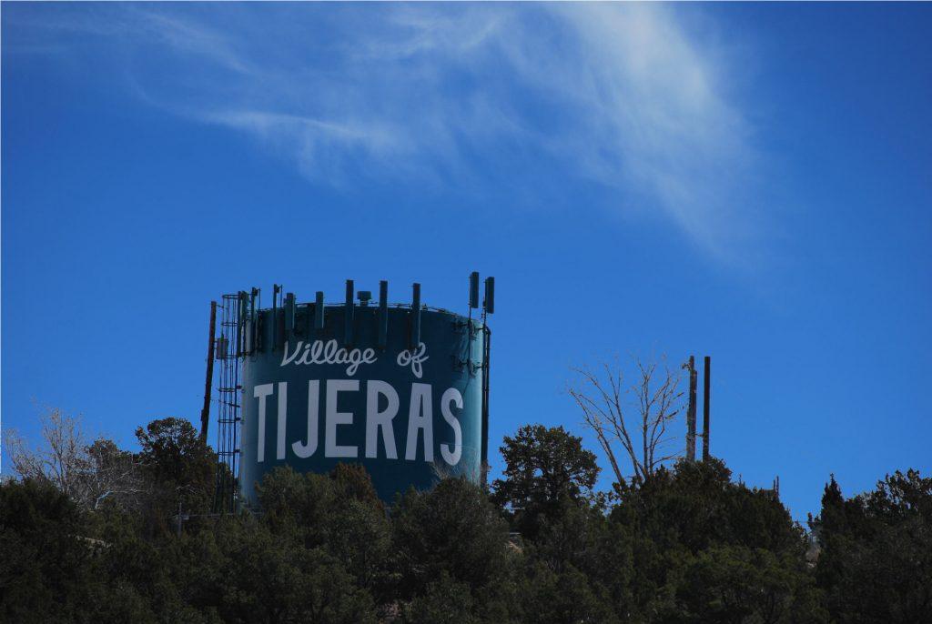 Tijeras Water Tower Cell Antennas