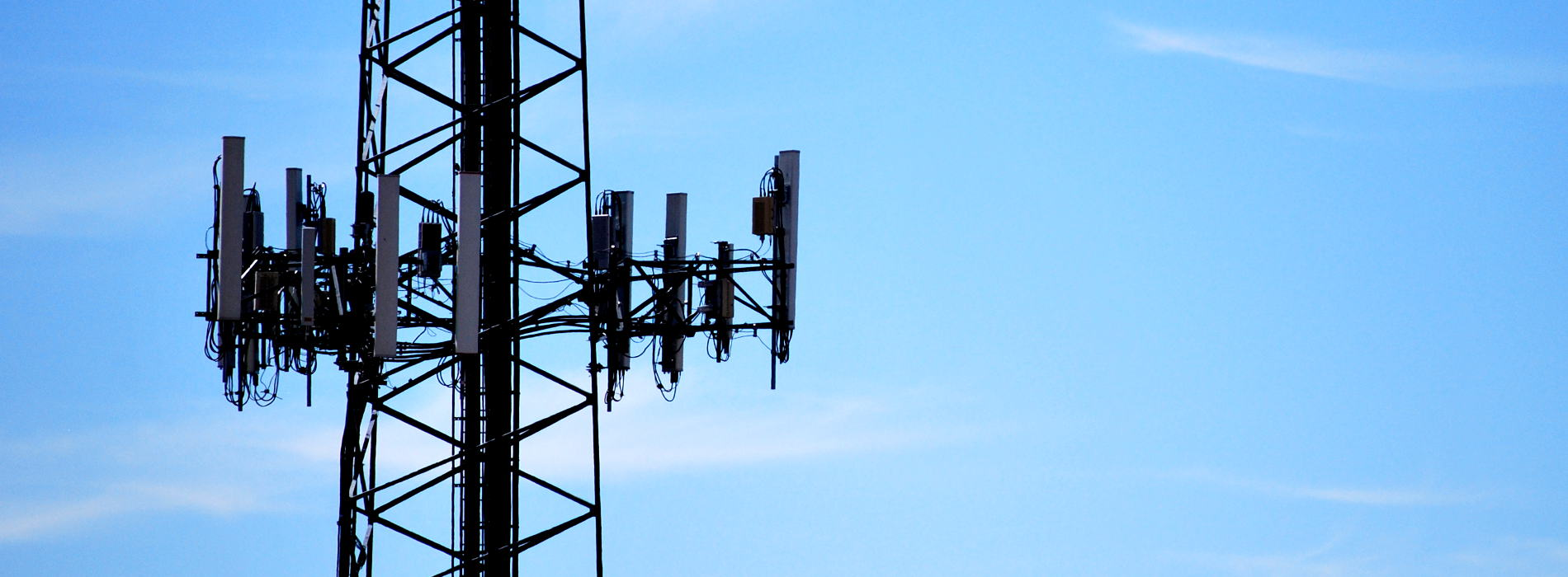 A Radio and Cell Phone Tower